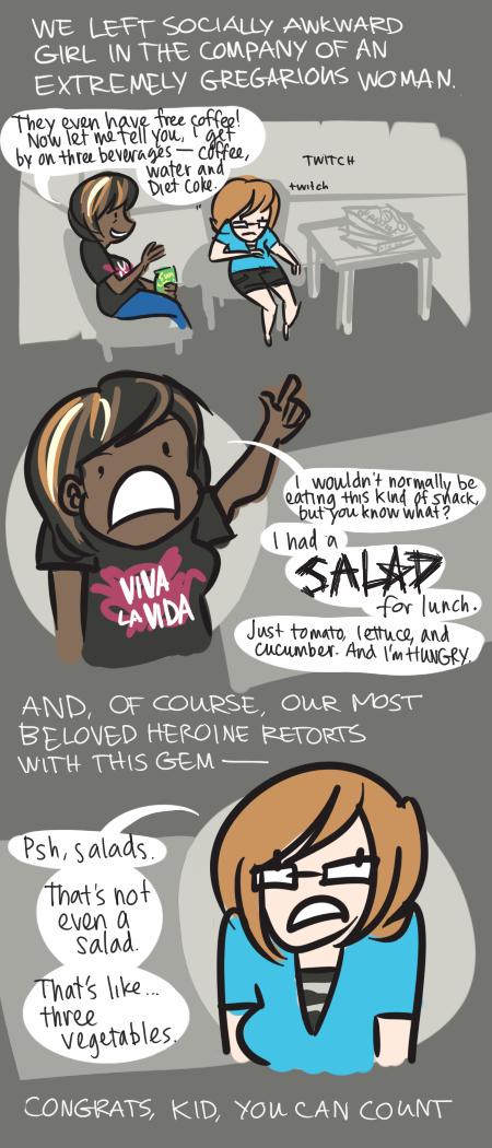 Return of Socially Awkward Girl, Pt. 2